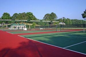 Kitűnő teniszpálya